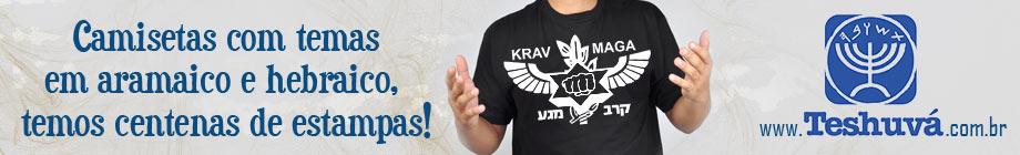Camisetas em Hebraico